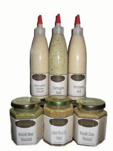Aioli and mustards
