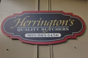 Herrington's Store Sign
