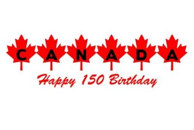 Canada 150 Happy Birthday