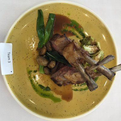 Lamb Meal Presentation