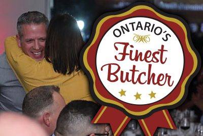 Ontario's Finest Butcher Badge